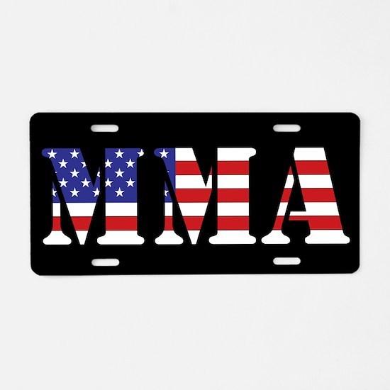 MMA Aluminum License Plate