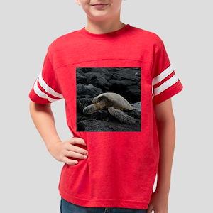 Hawaiian sea turtle... Youth Football Shirt