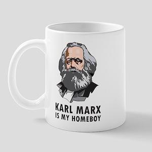 Karl Marx Is My Homeboy Mug