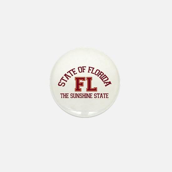 Florida - Varsity Design. Mini Button