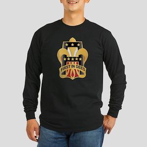 DUI - First Army Long Sleeve Dark T-Shirt
