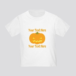 CUSTOM TEXT Jack O Lantern T-Shirt