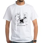 Therapy For The Cow Dependent White T-Shirt