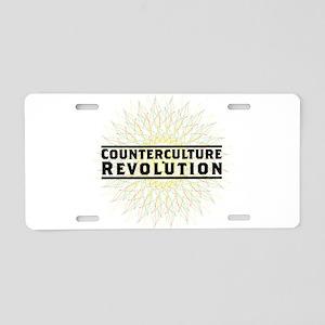 Counterculture Revolution5 Aluminum License Plate