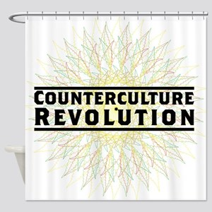 Counterculture Revolution5 Shower Curtain