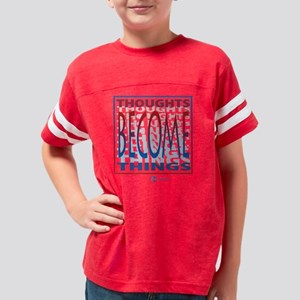 Thoughts2 Youth Football Shirt
