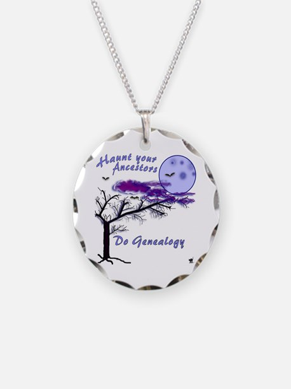 Haunt Your Ancestors Genealogy Necklace