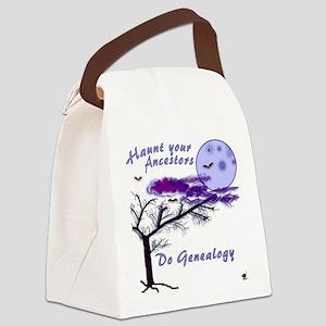 Haunt Your Ancestors Genealogy Canvas Lunch Bag