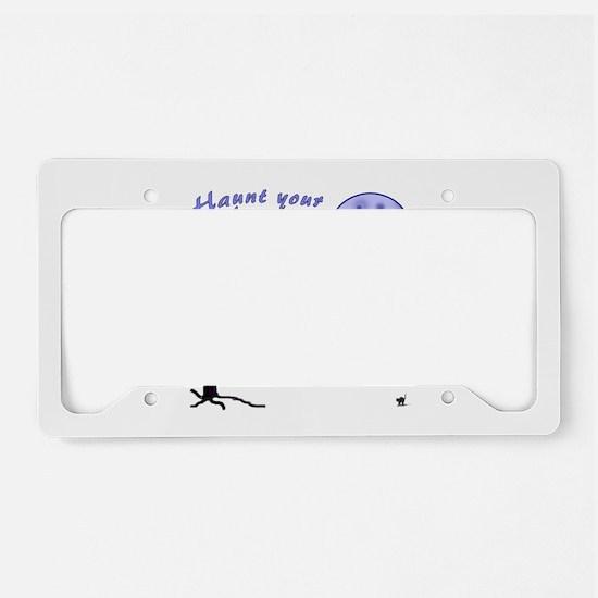 Haunt Your Ancestors Genealogy License Plate Holde