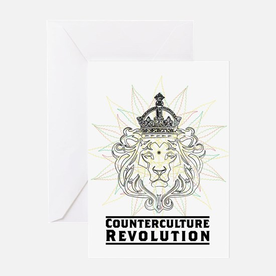 Counterculture Revolution4 Greeting Cards