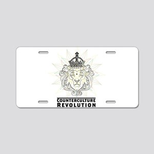 Counterculture Revolution4 Aluminum License Plate