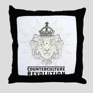 Counterculture Revolution4 Throw Pillow