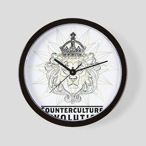 Counterculture Revolution4 Wall Clock