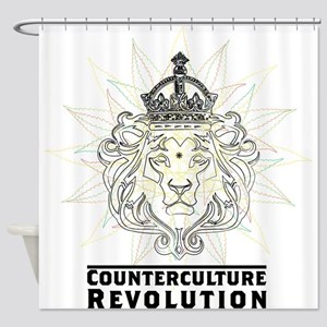 Counterculture Revolution4 Shower Curtain