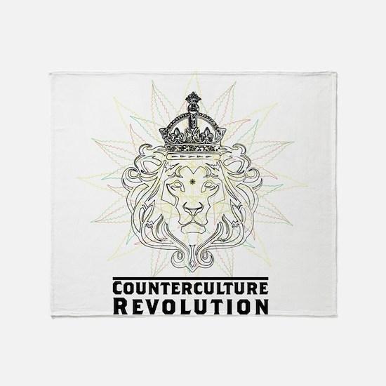 Counterculture Revolution4 Throw Blanket