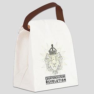 Counterculture Revolution4 Canvas Lunch Bag