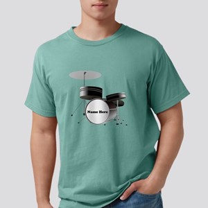 Drums Personalized Mens Comfort Colors Shirt