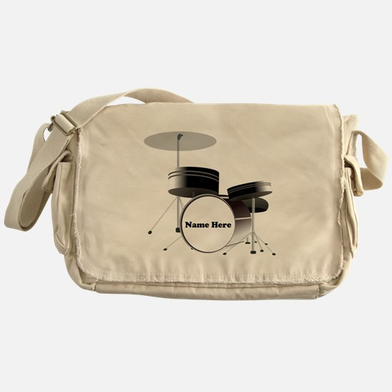 Drums Personalized Messenger Bag