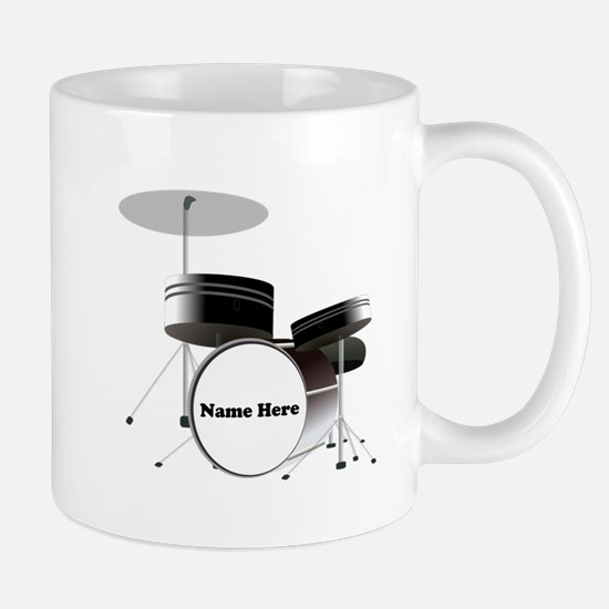 Drums Personalized Mug