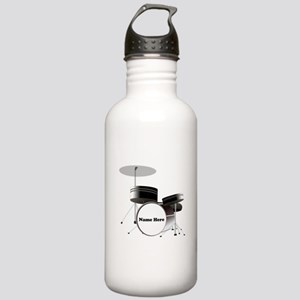 Drums Personalized Stainless Water Bottle 1.0L