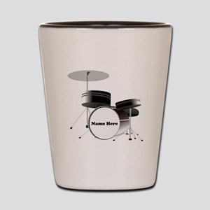 Drums Personalized Shot Glass