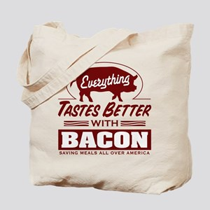 Everythings Better with Bacon Tote Bag