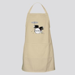 Drums Personalized Light Apron