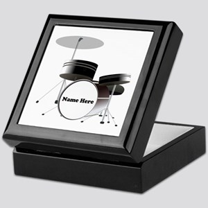 Drums Personalized Keepsake Box