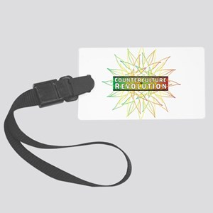 Counterculture Revolution3 Luggage Tag