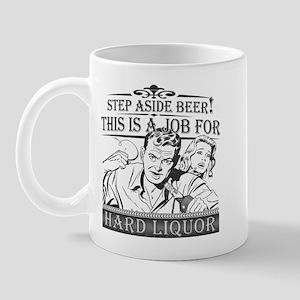 Step Aside Beer Mug