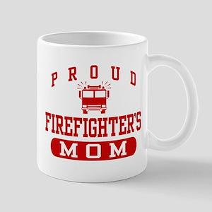 Proud Firefighter's Mom Mug
