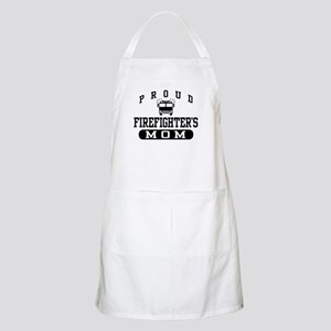 Proud Firefighter's Mom BBQ Apron
