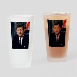 John Kennedy Drinking Glass