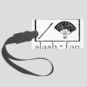 slashfan1_blackPNG Luggage Tag