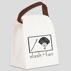 slashfan1_blackPNG Canvas Lunch Bag