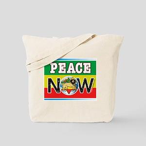 Rasta Peace Now Tote Bag