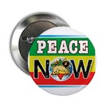 """Rasta Peace Now 2.25"""" Button (100 pack)"""
