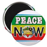 "Rasta Peace Now 2.25"" Magnet (100 pack)"