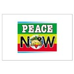 Rasta Peace Now Large Poster