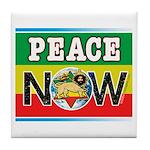 Rasta Peace Now Tile Coaster