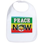 Rasta Peace Now Bib