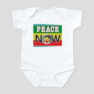 Rasta Peace Now Infant Bodysuit