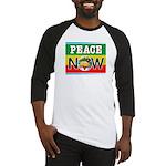Rasta Peace Now Baseball Jersey
