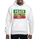 Rasta Peace Now Hooded Sweatshirt