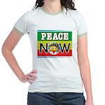 Rasta Peace Now Jr. Ringer T-Shirt
