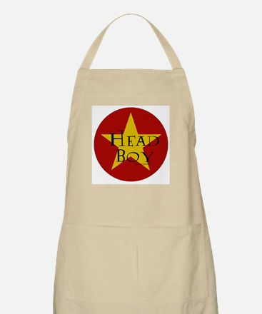 Head Boy - Star design in Red and Gold BBQ Apron
