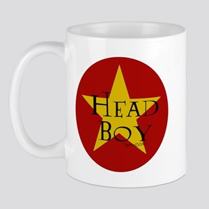 Head Boy - Star design in Red and Gold Mug