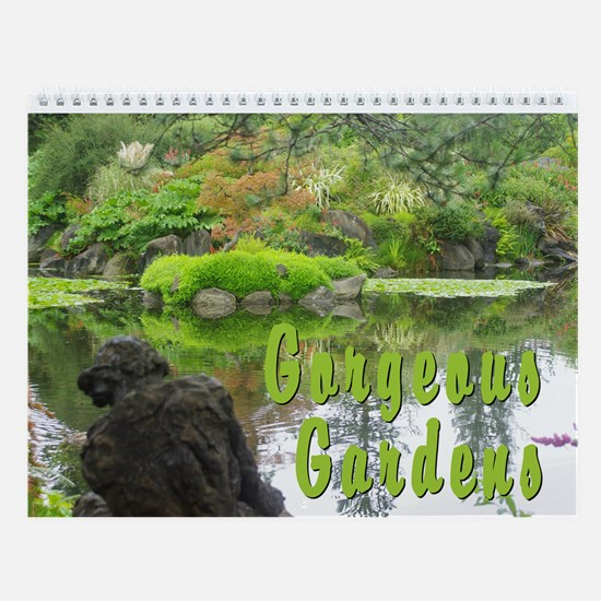 Gorgeous Gardens Vol 1 Wall Calendar