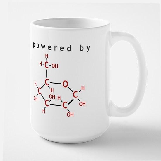 Powered by Glucose Large Mug