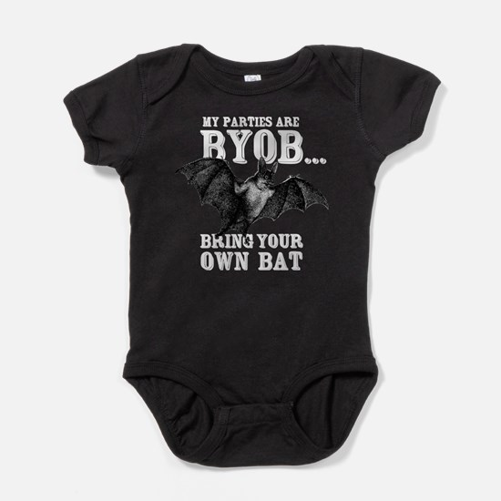 BYOB Bring Your Own Bat Baby Bodysuit